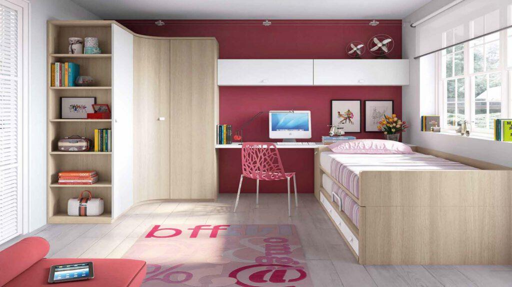 Quieres ver lo ltimo en dormitorios juveniles muebles y - Habitaciones juveniles de chicas ...