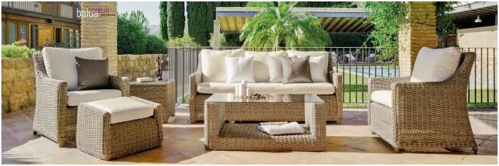 10 propuestas en muebles para tu jard n muebles for Muebles de terraza y jardin
